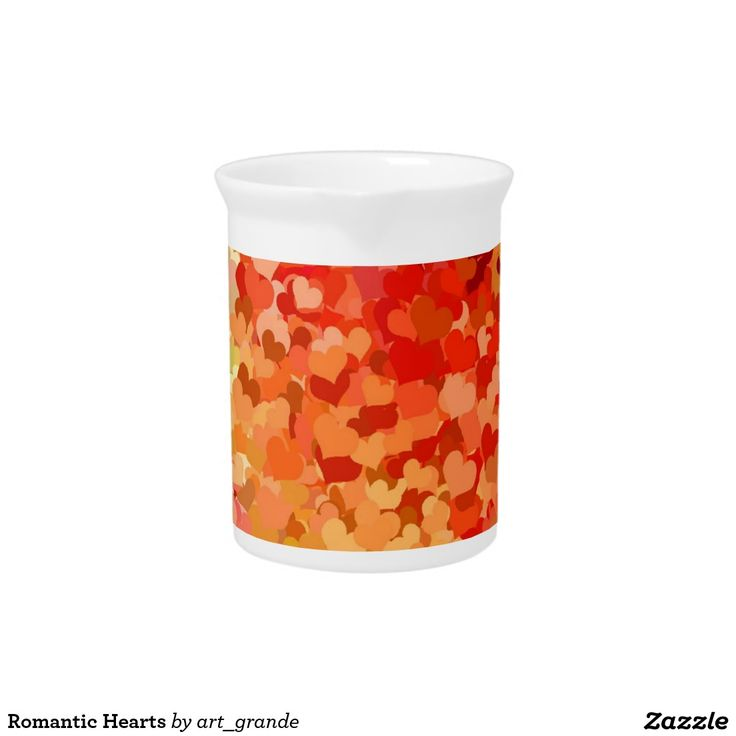 Romantic Hearts Drink Pitcher