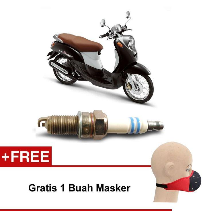 Bosch Busi Sepeda Motor Yamaha Fino UR4AI30 Irridium - Gratis Masker  Kuat & Tahan Lama, Standard Pabrikan (OE like), Tidak Cepat Kering, Busi Berkualitas ORIGINAL dari BOSCH  http://klikonderdil.com/busi-motor/1222-bosch-busi-sepeda-motor-yamaha-fino-ur4ai30-irridium-gratis-masker.html  #bosch #busi #busimotor #busiterbaik #yamahafino