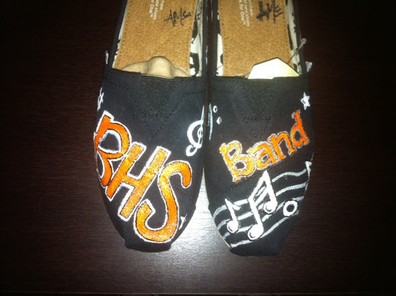 School Spirit TOMS shoes Customized for your by SolesoftheSouth, $80.00