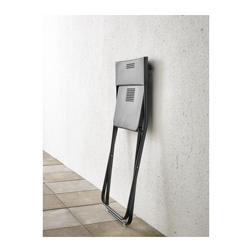 FEJAN Stol, utomhus - svart, - - IKEA