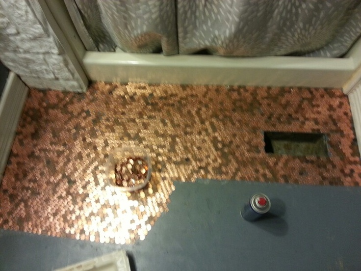 1000 images about penny for your project on pinterest coins penny backsplash and copper - Incredible uses for copper pennies ...