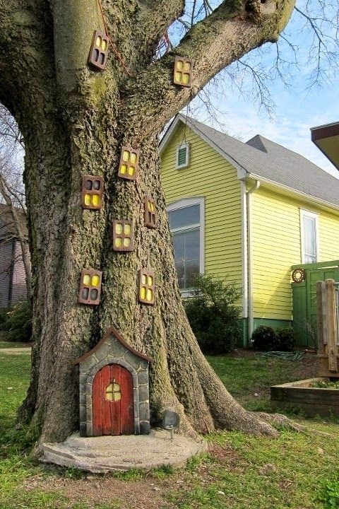 11 Pictures of Crazy Cool Uses for Tree Stumps