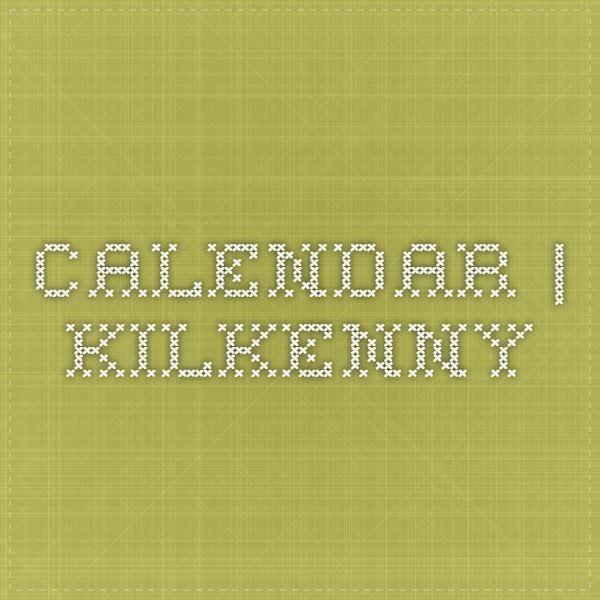 Calendar | Kilkenny