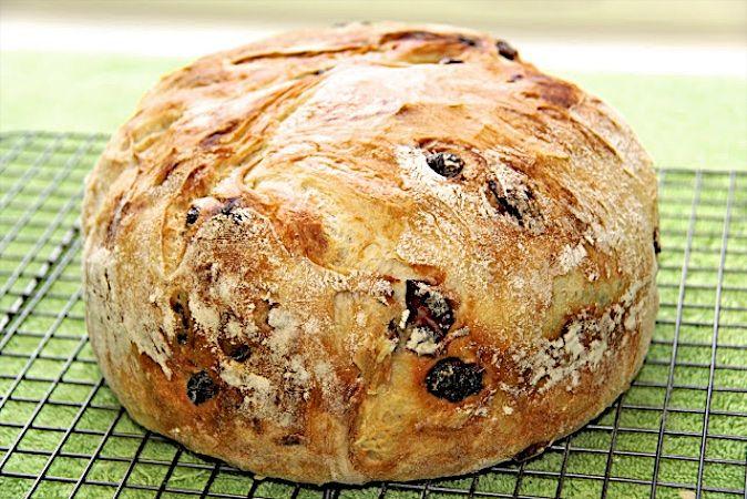 Cranberry Pecan Five Minute Artisan Bread - Eine verblüffend einfache Weise lecker, knackig im europäischen Stil Krusten und zart Innen in einem selbstgebackenem Brot zu haben!
