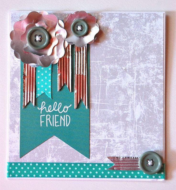 Amiche di Scrap: sfida Card #7 - Cristina