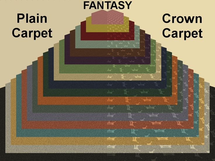 Mod The Sims - Crown and Solid Carpets in YETI Colors
