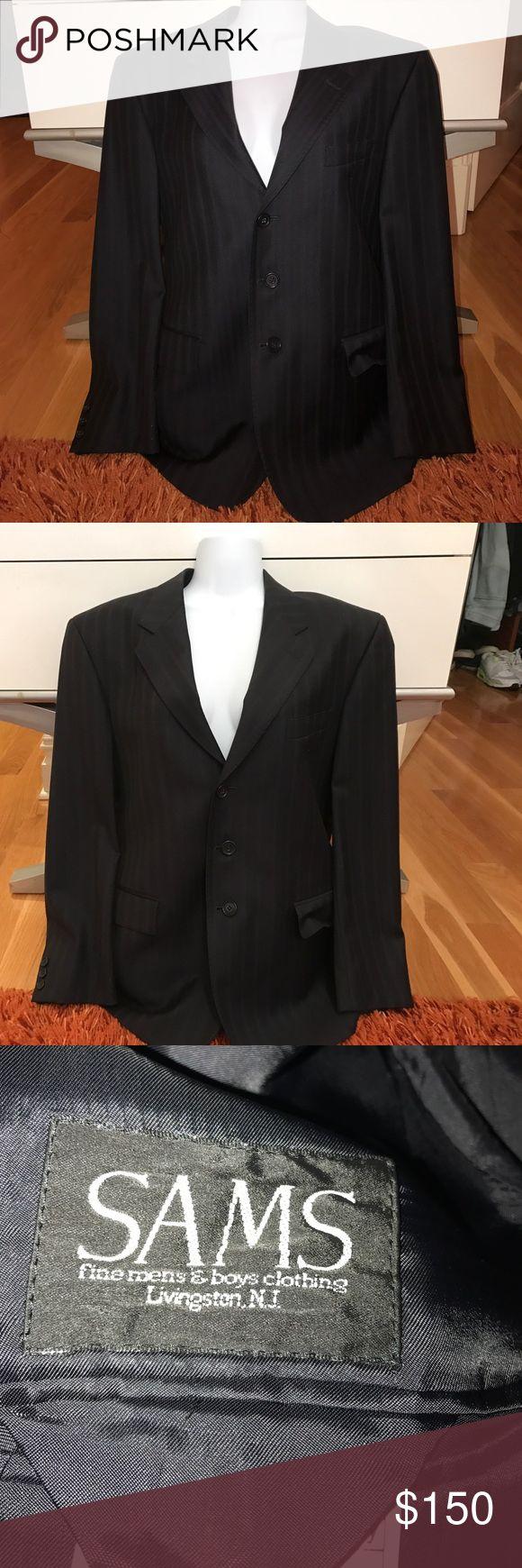 Men's Sports Coat 100% Wool Men's Sport Jacket 100% Wool made in Italy Suits & Blazers Sport Coats & Blazers