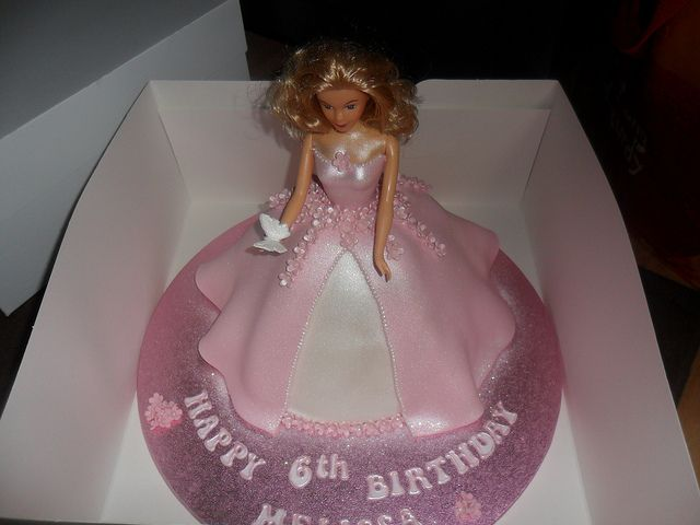 pink princess doll birthday cake by lizzies_cakes lizzies cupcakes lizziescakeshop, via Flickr