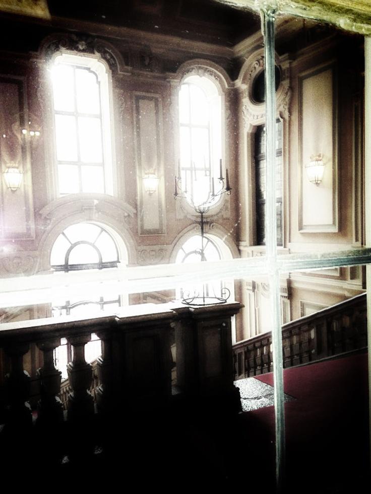 La scalinata di Palazzo Barolo