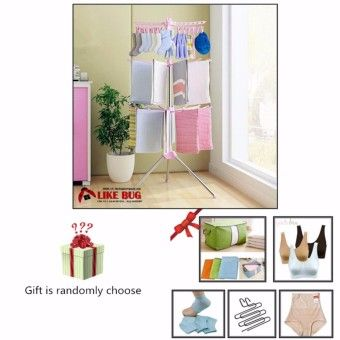 Review FARMIE: Stationary Outdoor 3 - Tier Clothes Suspended Drying Rack with 1 PC. Free Gift (randomly choose)Order in good conditions FARMIE: Stationary Outdoor 3 - Tier Clothes Suspended Drying Rack with 1 PC. Free Gift (randomly choose) Before OE702HLAAMW0WXANMY-48153300 Laundry & Cleaning Cleaning Garbage & Recycling Bins OEM FARMIE: Stationary Outdoor 3 - Tier Clothes Suspended Drying Rack with 1 PC. Free Gift (randomly choose)