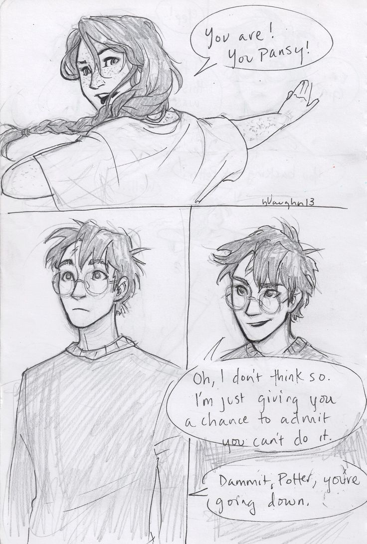 harry and ginny comic by burdge-part 2