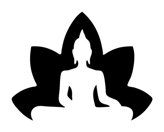 Hey, I found this really awesome Etsy listing at https://www.etsy.com/listing/271374284/lotus-with-buddha-silhouette-zen-decal
