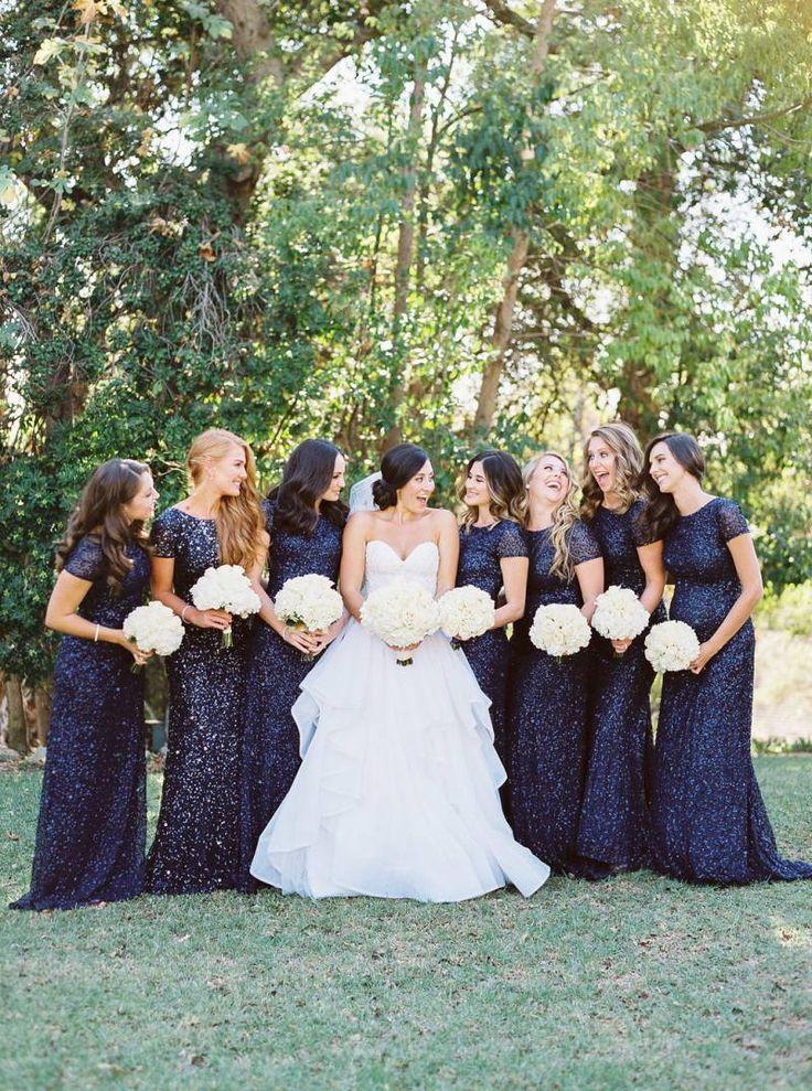 Classic Navy & White California Wedding via Magnolia Rouge