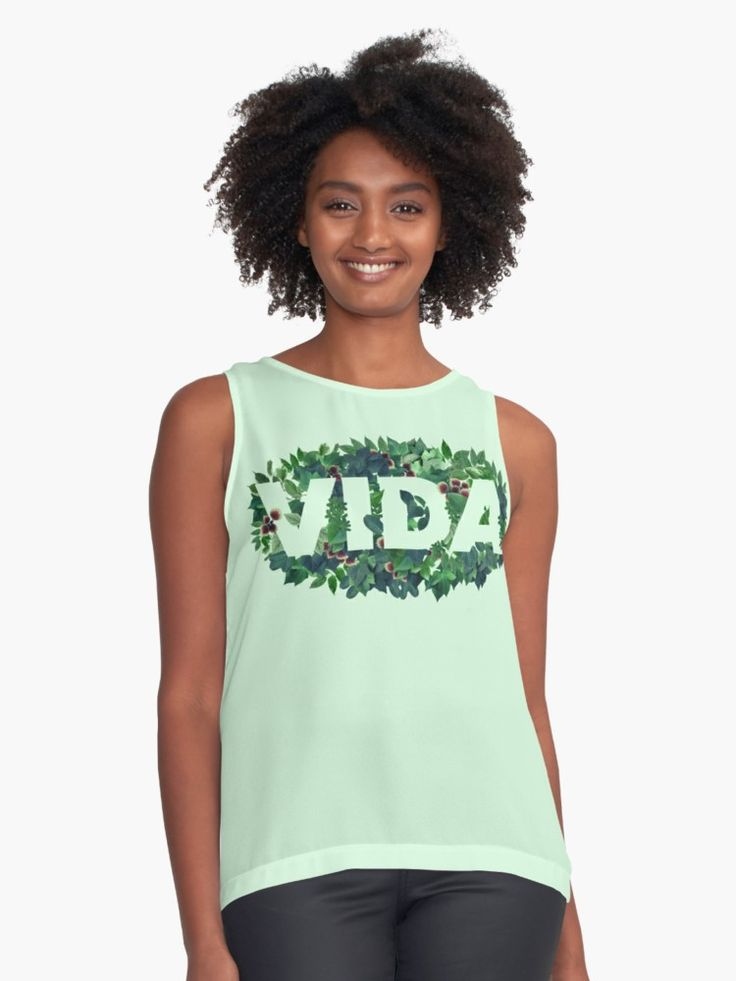 Cheap Exclusive Sleeveless Knit Top - Immersion Tee by VIDA VIDA Huge Surprise Online For Cheap Buy Cheap Good Selling 4pF7hpsB94