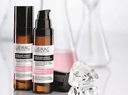 Lierac Prescription Ροζ σειρά για ευαίσθητες ή επιδερμίδες με ευρυαγγείες. Fluide Anti-Rougeurs Λεπτόρευστο ζελ και θεραπευτική κρέμα κατά των ερεθισμών & των κοκκινίλων, κατευναστική και ενυδατική