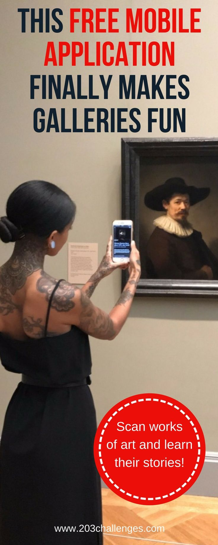 Art app Smartify - learn the stories of the most famous works of art in the world while standing in front of them, in the museum or gallery.