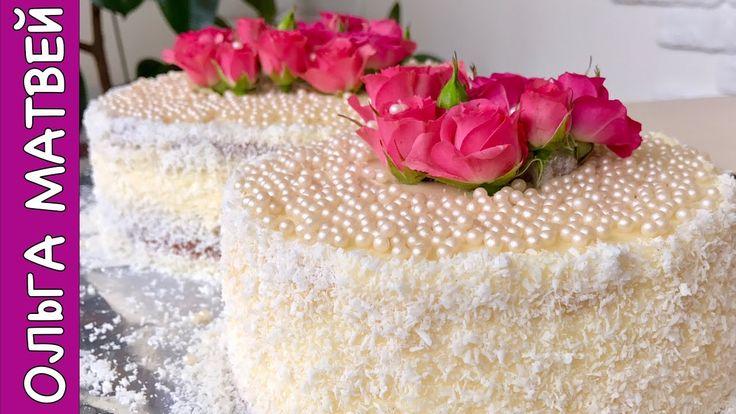 Как Сдеалать Торт с Живыми Цветами к 8 Марта| How to Make a Cake with Fr...