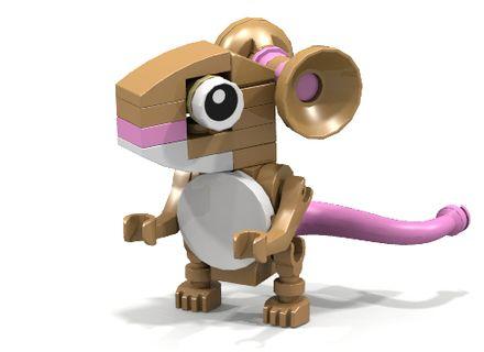 Lego Gruffalo mouse