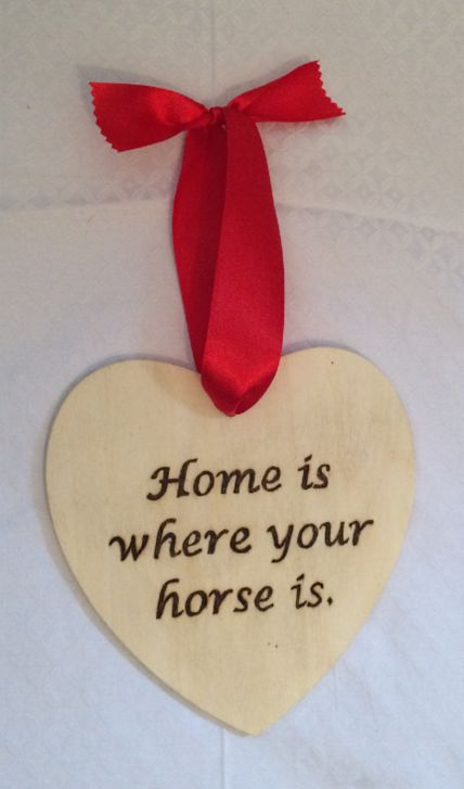 Handmade Wooden Heart Shaped Wall Plaque, £4.99! Great gift!! :)