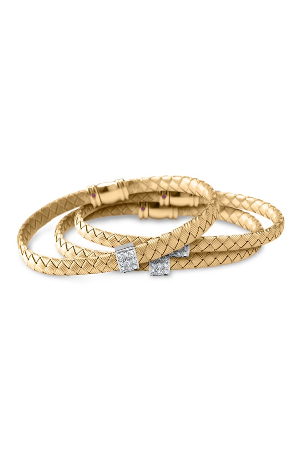 Roberto Coin bangles, simple & perfect!