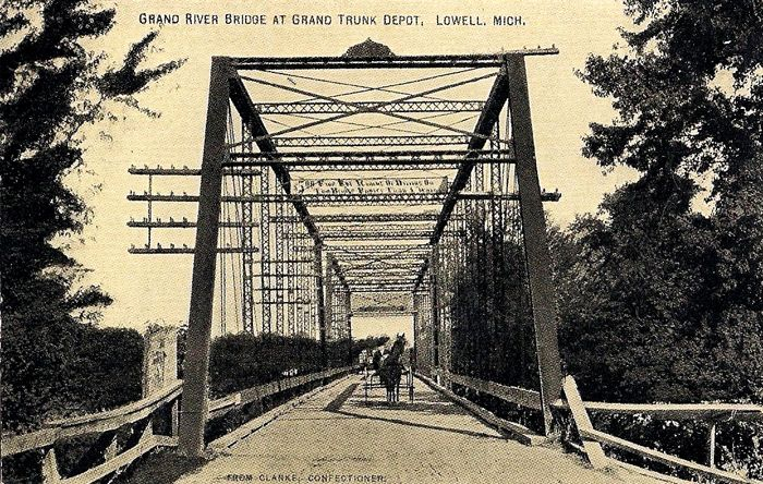 Grand-River-Bridge-at-Grand-Trunk-Depot-Lowell-Michigan