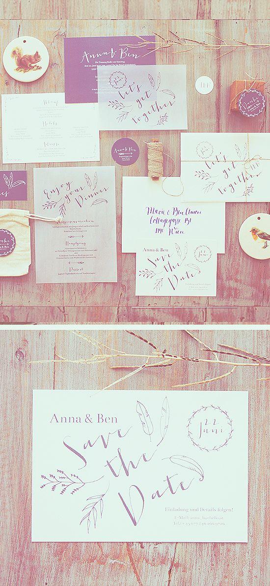 77 besten Hochzeitseinladungen Bilder auf Pinterest
