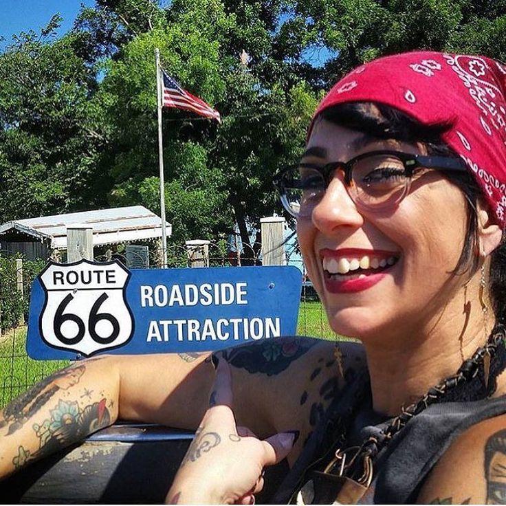 """danielle_colby_american_picker: """"Road life Take by @mikewolfeamericanpicker"""""""