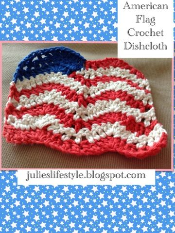 Crochet American Flag Scarf Pattern : 17 Best images about The 4th Of July on Pinterest Pool ...