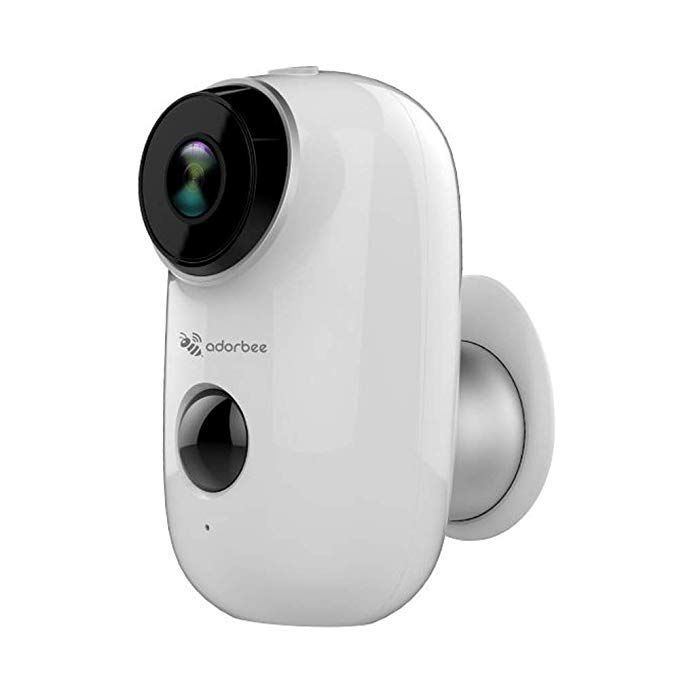 Adorbee Wifi Outdoor Security Camera Wireless Rechargeable Battery Powered Video Sur Wireless Security Cameras Wireless Home Security Systems Security Camera