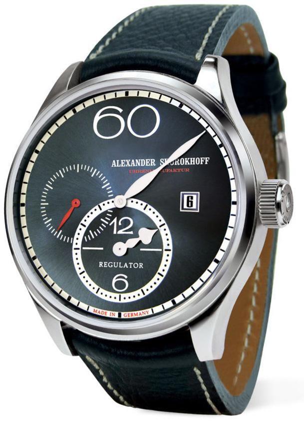 Alexander Shorokhoff Watch Regulator R01 Add Content Bezel Fixed