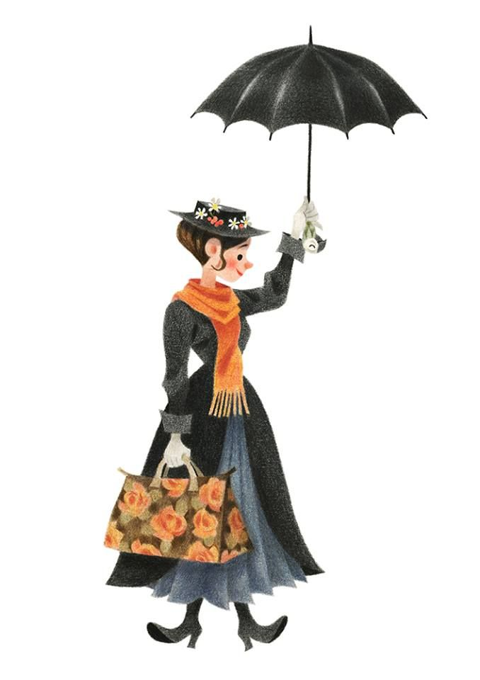 Mary Poppins by Genevieve Godbout