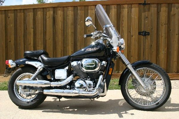 2003 Honda Shadow Spirit 750 Before Mod
