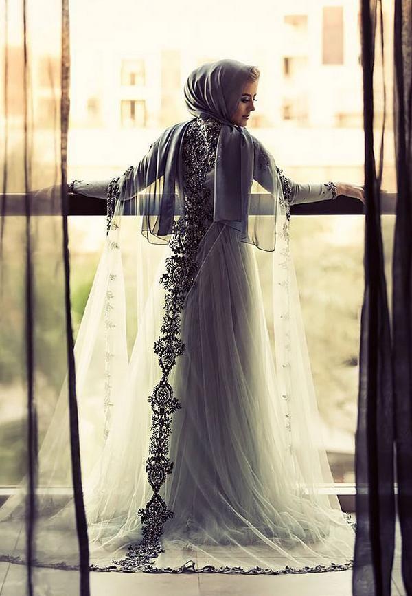 60 Stunning Islamic Hijab Wedding Dresses, http://photovide.com/islamic-hijab-wedding-dresses/