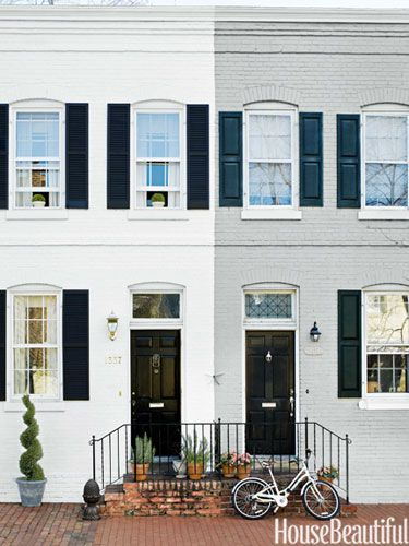Small Georgetown Row House - Row House Design
