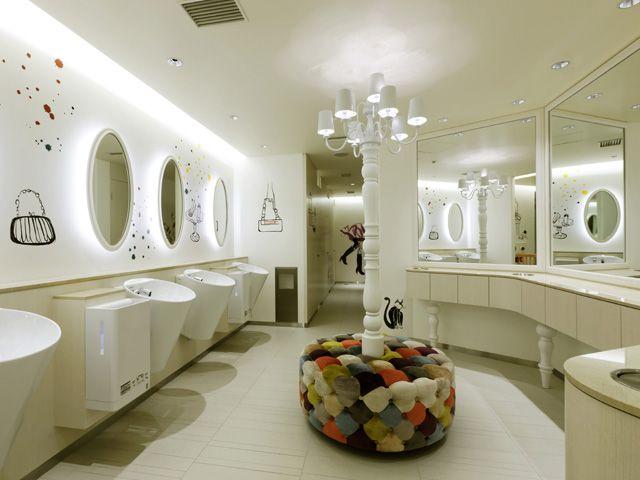 Web Photo Gallery  Restroom DesignToilet DesignRound Bathroom MirrorRest RoomWashroomPowder