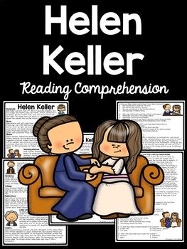 Helen Keller Reading Comprehension and DBQ, civil rights
