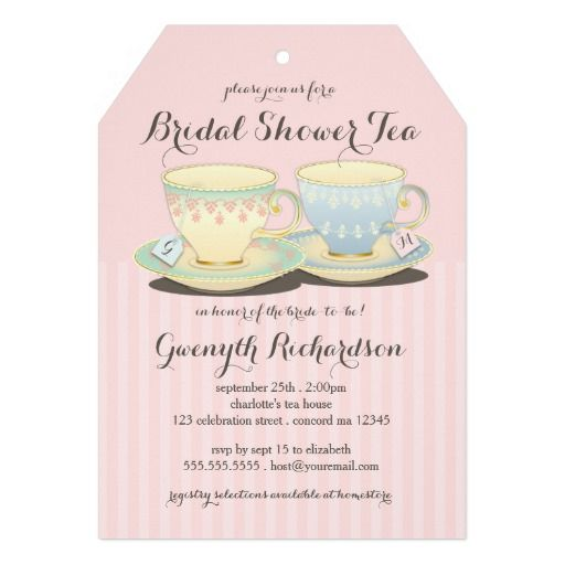 53 best images about Invitations for Tea Party – Bridal Shower Invitations Tea Party Theme