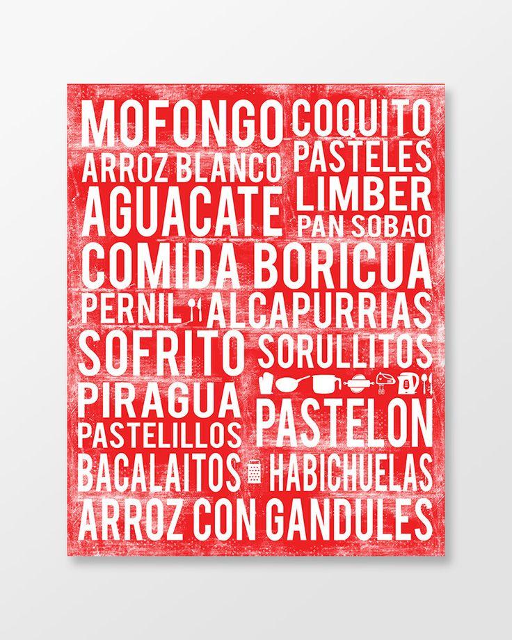 Puerto Rico Kitchen Wall Art