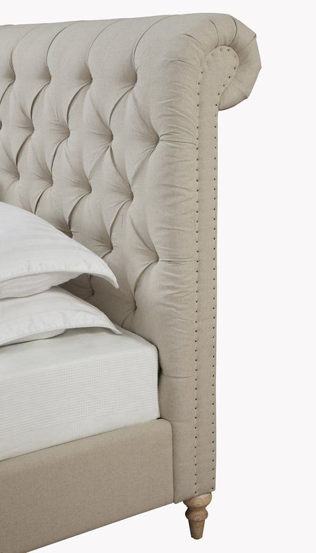 Octavia Upholstered Platform Bed - Joss and Main