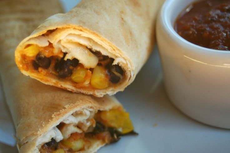freezer meal: chicken taquitos