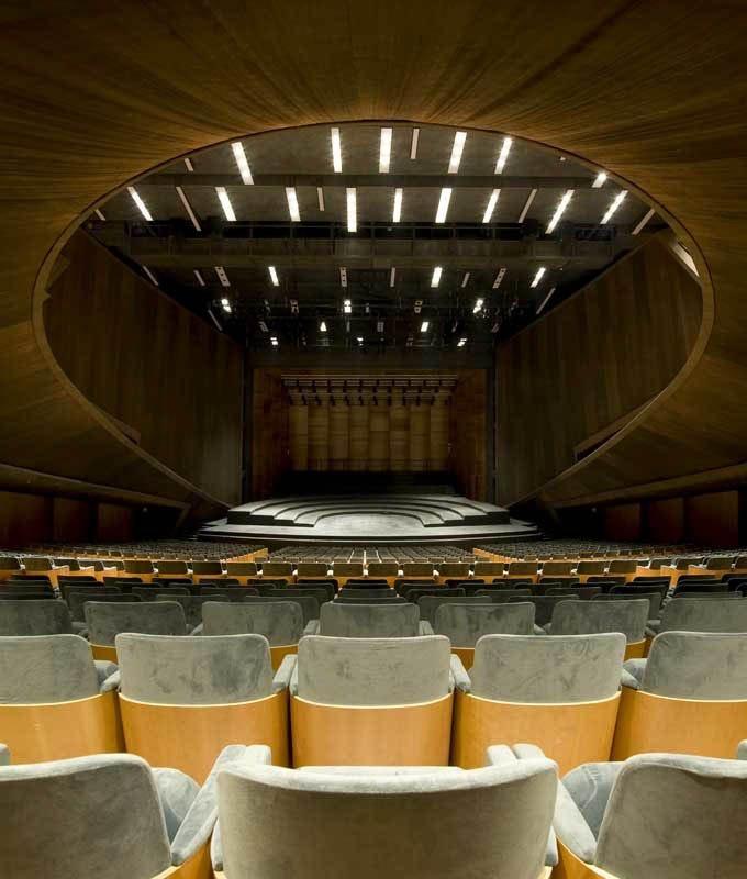 Nuovo Auditorium di Firenze, Firenze, 2011 by ABDR #architecture #art #theatre #florence