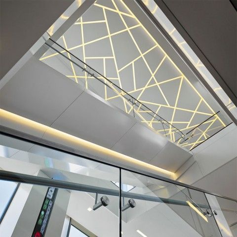 Led Lighting Confidential Atrium Architectural Led By