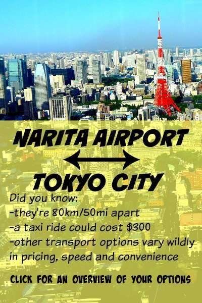 How to Get from Narita Airport to Tokyo: Price, Speed, Convenience