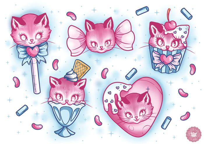 Ella Mobbs   Cat Candy Flash
