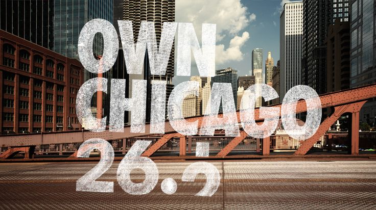 Get ready Chicago Marathon, I'm about to check you off my list for 2014!