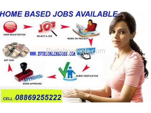 Online Copy Paste Jobs - Work from Home at your free time