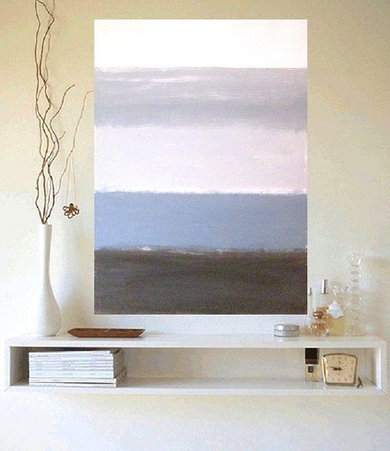 Canvas kunst moderne abstracte schilderkunst door ArtDesignShop