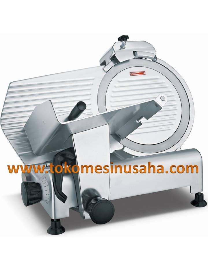 Mesin Meat Slicer adalah mesin yang digunakan untuk mengiris ataupun memotong daging menjadi tipis dan sama tebal. Mesin ini terbuat dari bahan stainless steel sehingga akan menjaga daging tetap hygienist. Spesifikasi : Meat Slicer 220ES/ B-8 Diameter slice : 22 cm Dimensi       : 45 x 28 x 32 cm Power           : 120 W Daya             : 220 V/ 1 P Berat            : 13,5 Kg