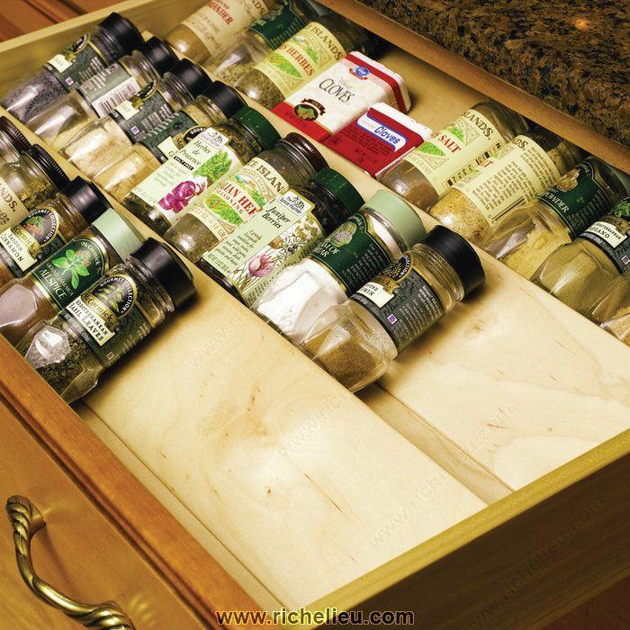 Wood Spice Divider - Richelieu Hardware