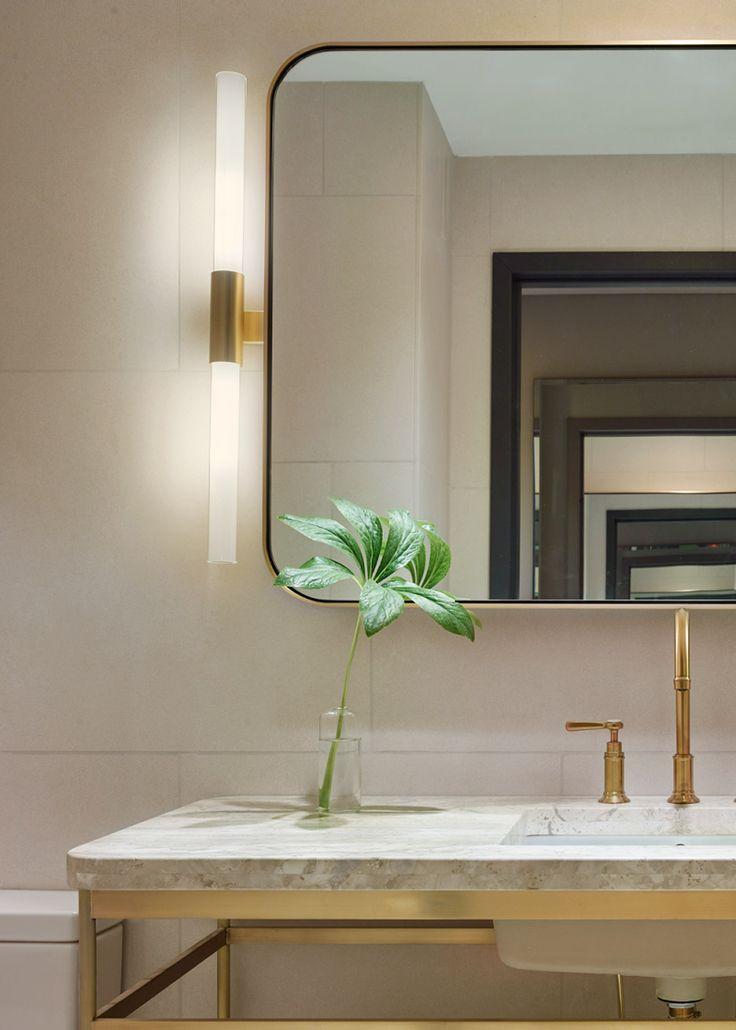 Space Copenhagen Designs 11 Howard Hotel Interior. Bathroom Mirror ...
